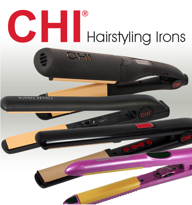 CHI: Straighten your hair with less damage.