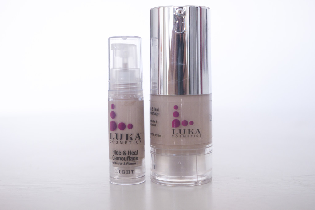 Luka cosmetics hide and heal fair travel